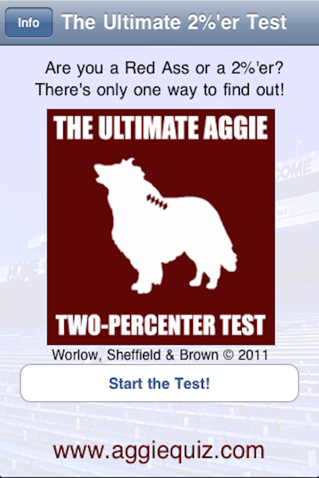 Screenshot Aggie Quiz Free Trial