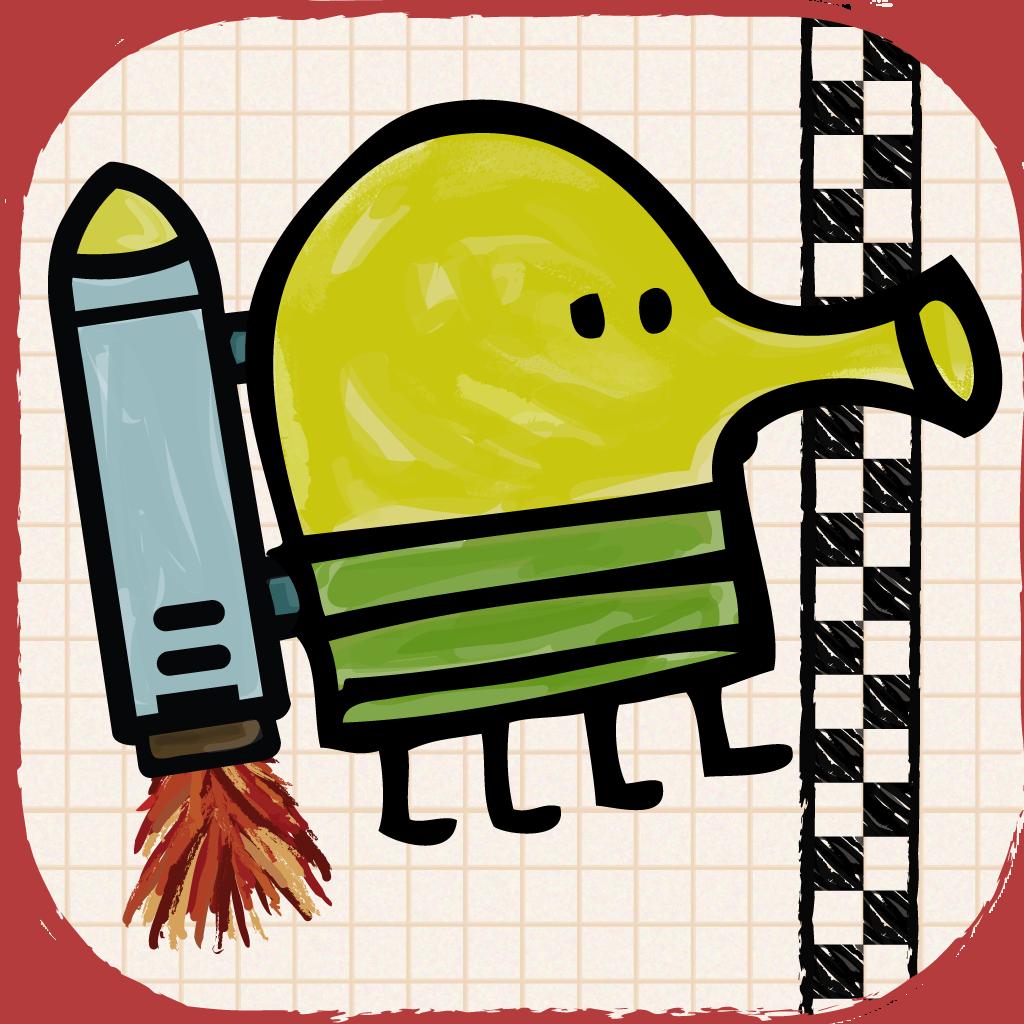 Doodle jump app icon doodle jump race